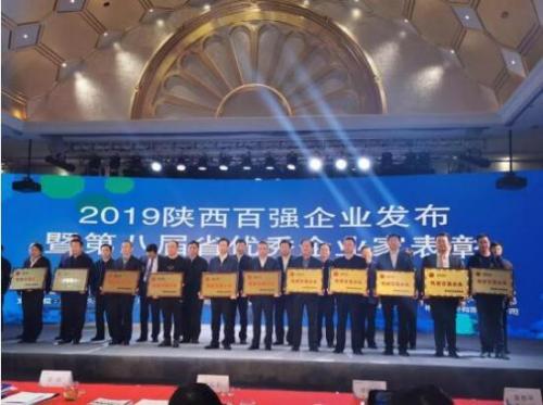 必康集团荣膺2019陕西百强企业第53位